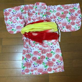 アンパサンド(ampersand)の浴衣 女の子 セパレート110cm(甚平/浴衣)