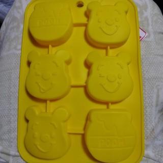 クマノプーサン(くまのプーさん)のくまのプーさん シリコーン プチケーキ型 ディズニー シリコンモールド お菓子(調理道具/製菓道具)