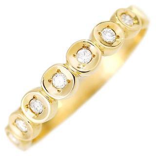ダイヤモンドリング 11号 2g K18YG(リング(指輪))