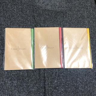 コールハーン(Cole Haan)のコールハーン メモ帳&ボールペンセット×3(ノート/メモ帳/ふせん)