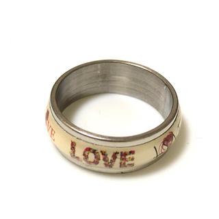 同時購入で300円 ステンレス指輪 LOVE L♡Y(リング(指輪))