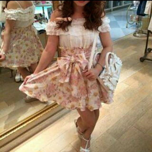 LIZ LISA(リズリサ)の【美品・訳有り】LIZ LISA ガーベラスカート Oneサイズ レディースのスカート(ミニスカート)の商品写真