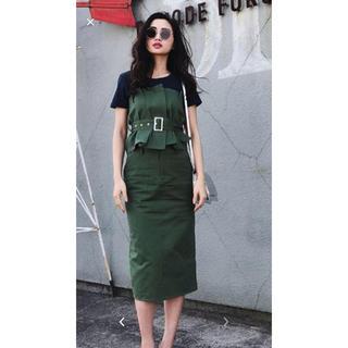 アメリヴィンテージ(Ameri VINTAGE)のビスチェ&スカート(ひざ丈スカート)