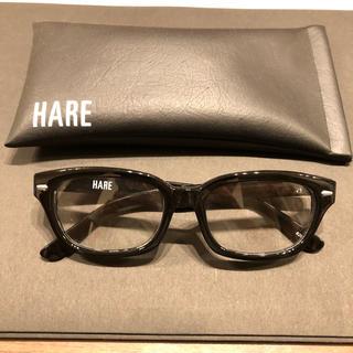 ハレ(HARE)のHARE 眼鏡 伊達 ケース付き ハレ(サングラス/メガネ)