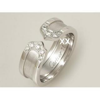 カルティエ(Cartier)のCartier C2ダイヤモンド リング 48 8号(リング(指輪))