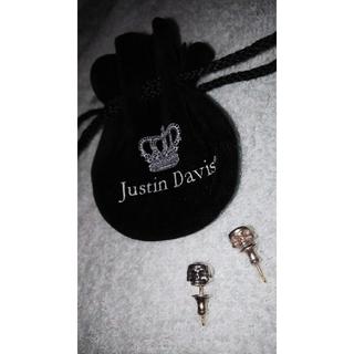 ジャスティンデイビス(Justin Davis)のJustin Davis【正規品】新品未使用⭐️ジャスティンデイビスピアス⭐️(その他)