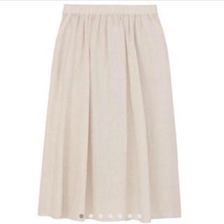ムジルシリョウヒン(MUJI (無印良品))の無印 リネンマキシスカート(ロングスカート)