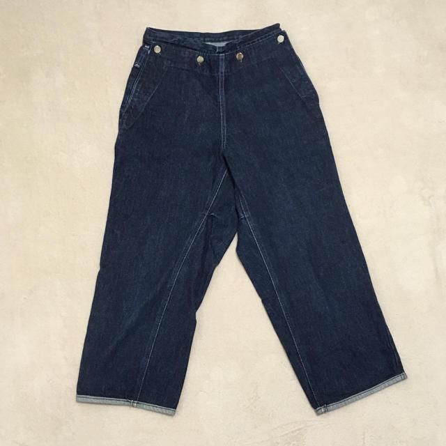 YAECA(ヤエカ)の原田服飾研究所 TUKI ツキ デニム type3 タイプ3 サイズ0 レディースのパンツ(デニム/ジーンズ)の商品写真