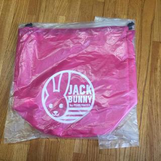 パーリーゲイツ(PEARLY GATES)のジャックバニー  ゴルフボールポーチ 巾着 ピンク(その他)
