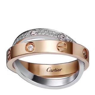 カルティエ(Cartier)のCartier ダイヤモンド リング(リング(指輪))