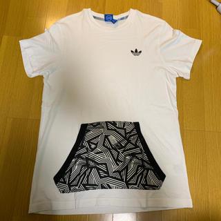 アディダス(adidas)の●adidas originals ポケットつきTシャツ・大きめL(Tシャツ/カットソー(半袖/袖なし))