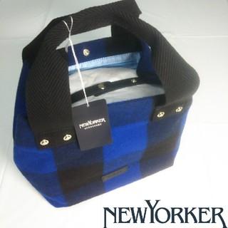 ニューヨーカー(NEWYORKER)の【新品未使用】ニューヨーカー NEWYORKER トートバッグ 紺(トートバッグ)