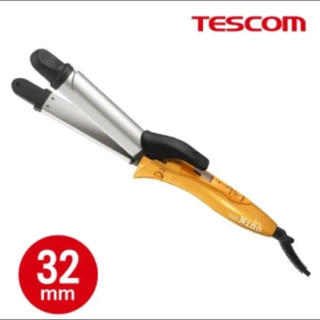 テスコム(TESCOM)のテスコム◎ヘアーアイロン◎コテ 2way 32mm ストレート(ヘアアイロン)