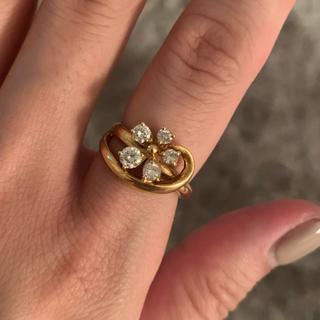 ダイヤ 指輪 オリジナル おしゃれ ゴールド(リング(指輪))
