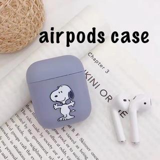 スヌーピー(SNOOPY)のairpodsシリコンケース スヌーピー airpodsケース #1(モバイルケース/カバー)