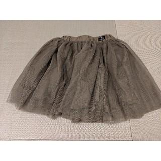 ブリーズ(BREEZE)のチュールスカート カーキ 100 美品 ブリーズ(スカート)