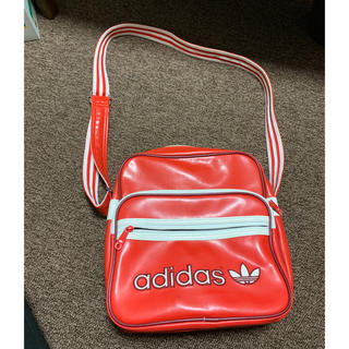 adidas - ●美品・adidas originals・赤・ショルダーバッグ