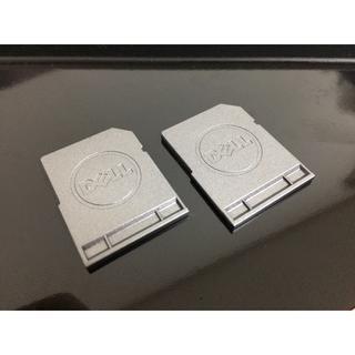 デル(DELL)のDELL デル SDカード スロットカバー ダミーカード (2枚セット)(PCパーツ)