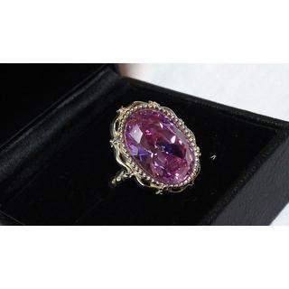 ローリーロドキン(Loree Rodkin)の正規美 ラブ&ヘイト プリンセスリング 13号 リフレクションドームストーン指輪(リング(指輪))