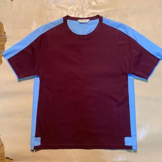 マルニ(Marni)のMARNI 切替Tシャツ(Tシャツ/カットソー(半袖/袖なし))