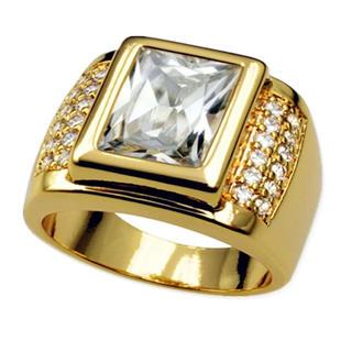K18YGFダイヤモンドリングメンズ(リング(指輪))