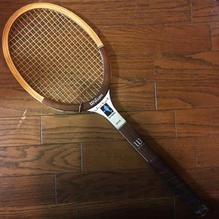 ウィルソン(wilson)のウィルソン 木製 ヴィンテージ テニスラケット(ラケット)