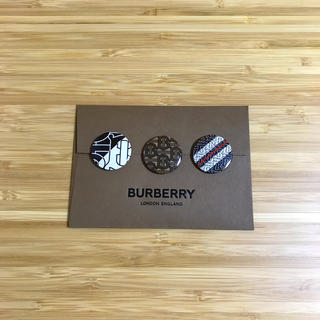 バーバリー(BURBERRY)のBURBERRY / 缶バッジ×3(その他)