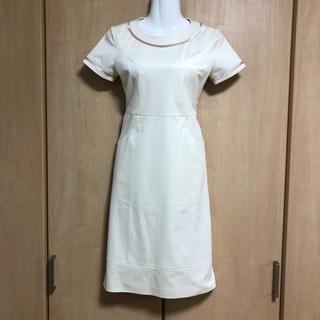 新品 calala製 5号 エステサロン ユニフォーム ワンピース制服(その他)