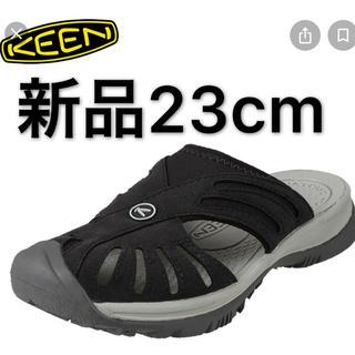 KEEN - 最終処分価格  新品 23cm KEEN キーン ROSE SLIDE