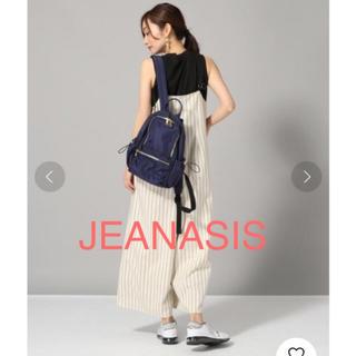 JEANASIS - 即購入 OK! JEANASIS  ストライプサロペット