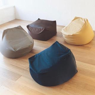 ムジルシリョウヒン(MUJI (無印良品))の無印良品 体にフィットするソファー カバーのみ(ビーズソファ/クッションソファ)