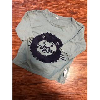 マーキーズ(MARKEY'S)のmarkey's (マーキーズ) jippon ロンT 7分 90 ライオン(Tシャツ/カットソー)