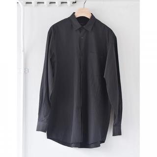 COMOLI - 【19ss】comoli シャツ ブラック サイズ 1 【完売品】black