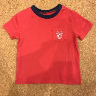 ポロラルフローレン(POLO RALPH LAUREN)の♡POLO RL♡cotton100% 半袖 Tシャツ 70 ベビー  子供(Tシャツ)