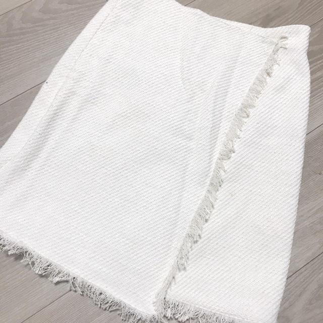 MERCURYDUO(マーキュリーデュオ)のサマーツイードスカート レディースのスカート(ミニスカート)の商品写真