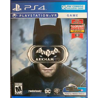 プレイステーションヴィーアール(PlayStation VR)のバットマン アーカム VR (並行輸入品)(家庭用ゲームソフト)