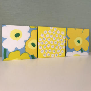 マリメッコ(marimekko)のマリメッコ インテリアパネル ハッピーカラー 壁飾り 軽量パネル(その他)