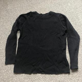 ムジルシリョウヒン(MUJI (無印良品))の無印良品 リブ編み セーター Mサイズ(ニット/セーター)