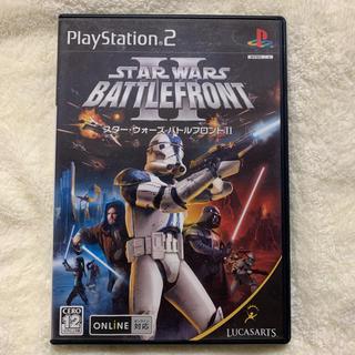 プレイステーション2(PlayStation2)のPS2専用 STAR WARS BATTLEFRONT II(家庭用ゲームソフト)