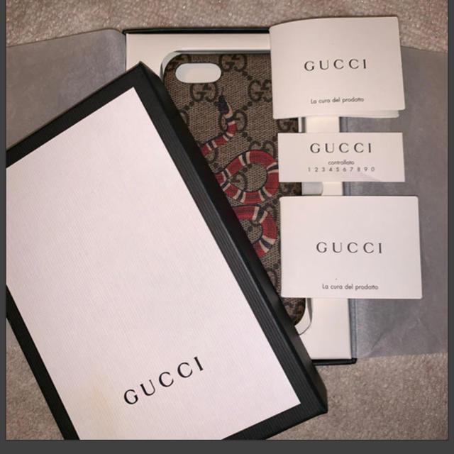 Gucci - iPhone7 ケース GUCCIの通販