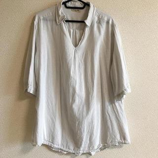 サマンサモスモス(SM2)のSM2 スキッパーシャツ(シャツ/ブラウス(半袖/袖なし))