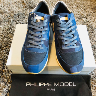 フィリップモデル(PHILIPPE MODEL)の限定値下げ!新品 PHILIPPE MODEL サイズ43 27.5㎝(スニーカー)