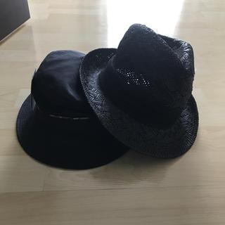 ラコステ(LACOSTE)の紳士用 帽子 新品未使用 タグ付き 2個セット(ハット)
