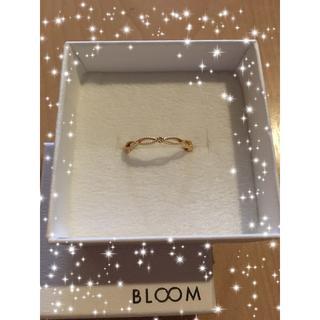 ブルーム(BLOOM)のBLOOM K18 イエローゴールドリング(リング(指輪))