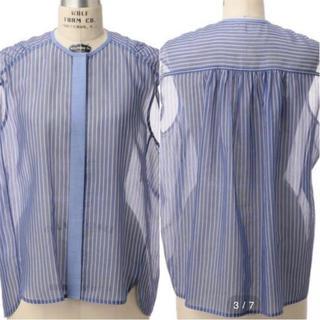 ドゥロワー(Drawer)のDrawerストライプブラウスシャツ36ドゥロワートゥモローランドアローズ(シャツ/ブラウス(半袖/袖なし))