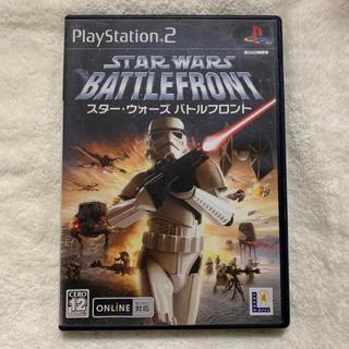 プレイステーション2(PlayStation2)のPS2専用 STAR WARS BATTLEFRONT(家庭用ゲームソフト)