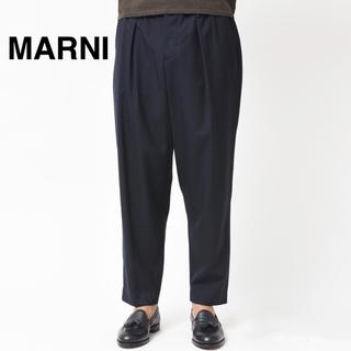 マルニ(Marni)の【ほぼ新品 定価7万円】MARNI サマーウール 定番ワイドパンツ 18aw(スラックス)