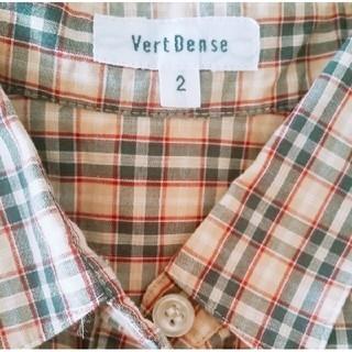 ヴェールダンス(Vert Dense)の☆美品 ✿ヴェールダンス✿ バーバリー調♪チェックシャツ/ブラウス☆(シャツ/ブラウス(半袖/袖なし))