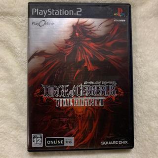 プレイステーション2(PlayStation2)のPS2専用 DIRGE of CERBERUS FINAL FANTASY Ⅶ(家庭用ゲームソフト)