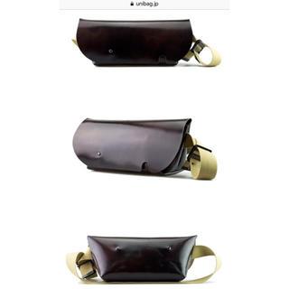 ウニコ(unico)のuni&co メッセンジャーバッグ Sサイズチョコ(メッセンジャーバッグ)